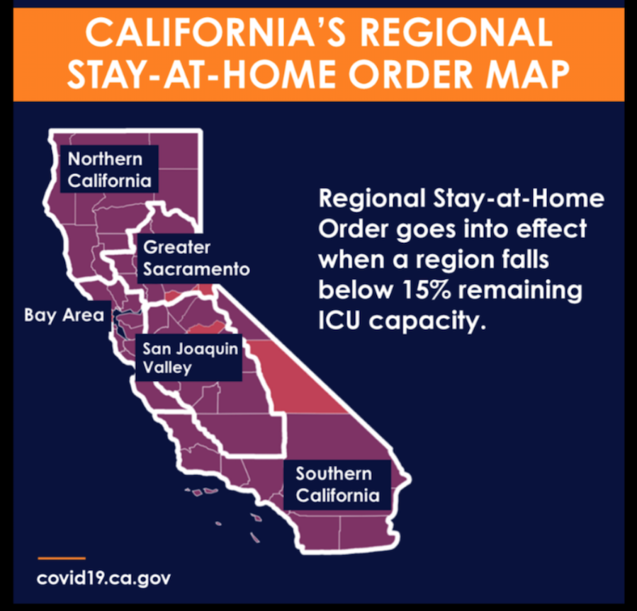 Stay at Home Order Map
